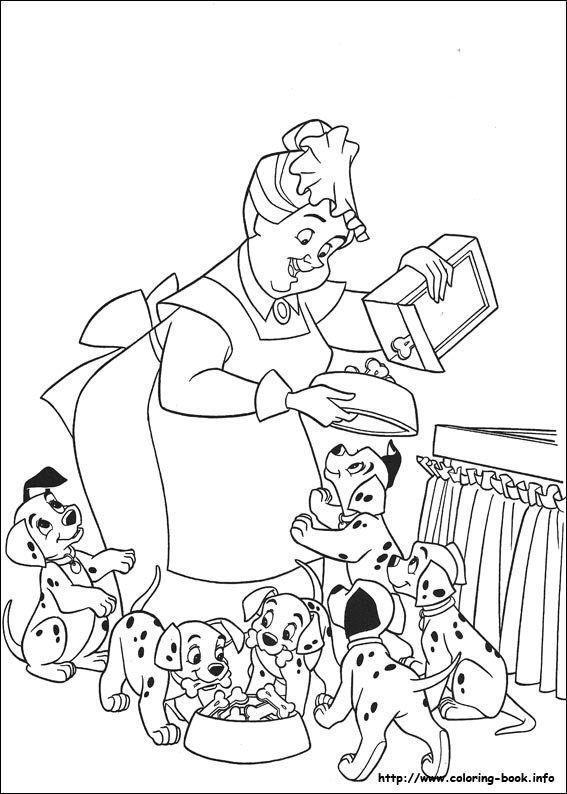 101 dalmatians coloring pages 101 Dalmatians coloring pages on Coloring Book.info 101 dalmatians coloring pages