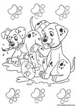 101 Dalmatians coloring pages on Coloring-Book.info