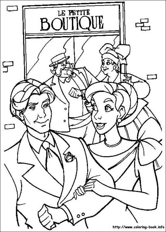 Anastasia coloring pages to print