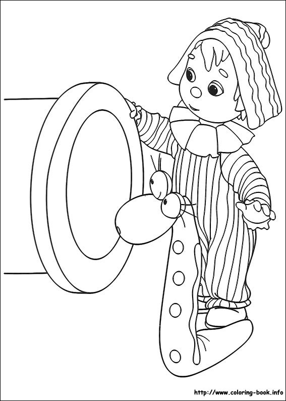 Andy Pandy Coloring Picture Www Coloring Book Info