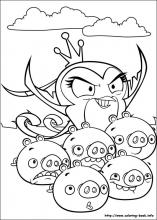 Angry Birds Stella coloring pages on Coloring-Book.info