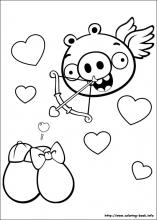 Angry Birds coloring pages on ColoringBookinfo