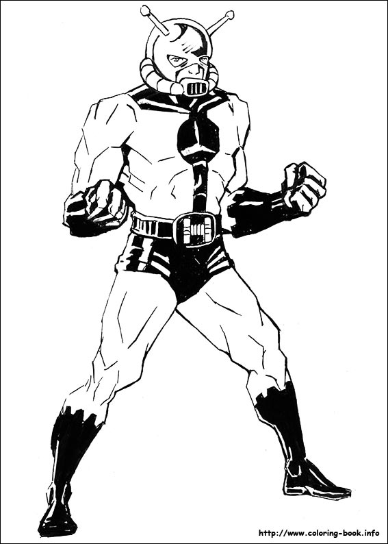 antman coloring pages Ant Man coloring pages on Coloring Book.info antman coloring pages