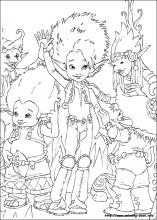 arthur and the minimoys coloring pages on coloring bookinfo - Arthur Coloring Pages