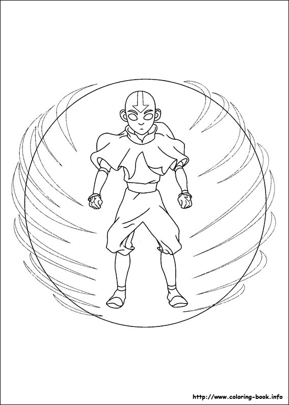 Avatar The Last Airbender Coloring Pages On Coloring Book Info