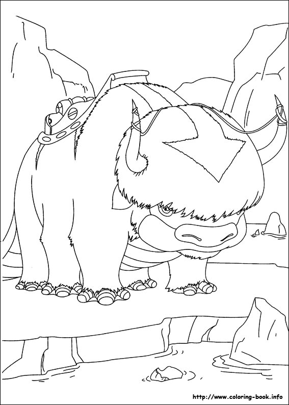 avatar the last airbender coloring pages Avatar, the last airbender coloring pages on Coloring Book.info avatar the last airbender coloring pages