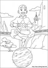Avatar the last airbender coloring pages on Coloring Bookinfo