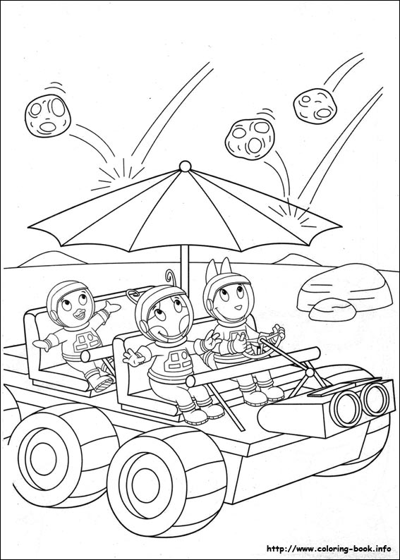 backyardigans coloring picture - Backyardigans Coloring Pages Print