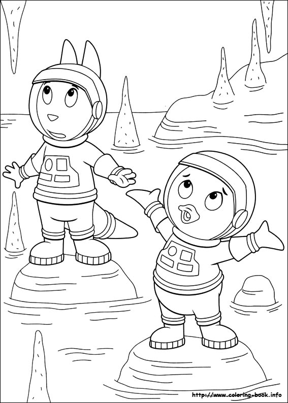 backyardigans coloring pages on coloring bookinfo - Backyardigans Coloring Pages Print