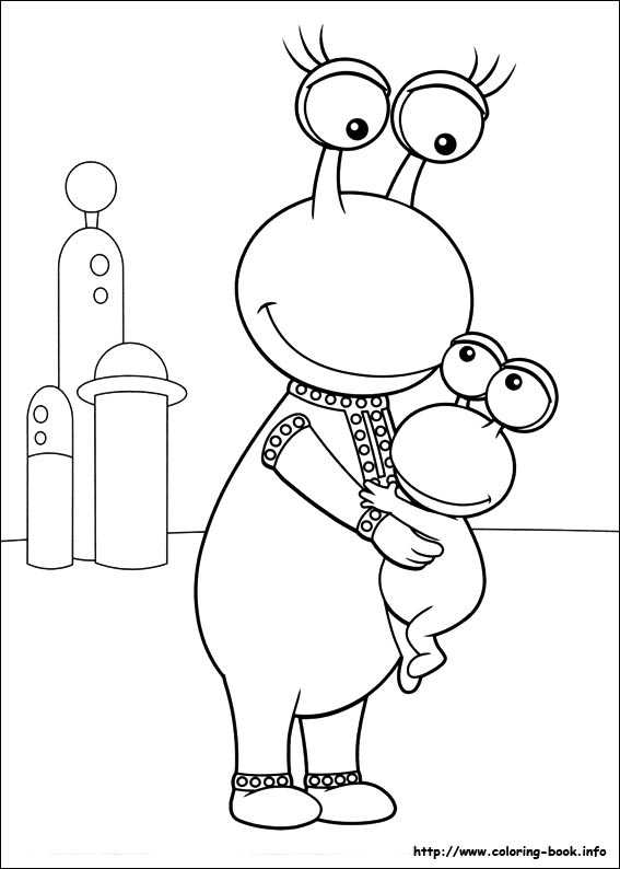 Backyardigans coloring pages on Coloring-Book.info