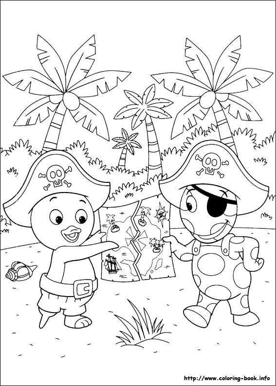 59 Backyardigans Pictures To Print And Color Last Updated October 3rd
