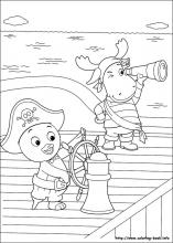 backyardigans coloring pages on coloring bookinfo