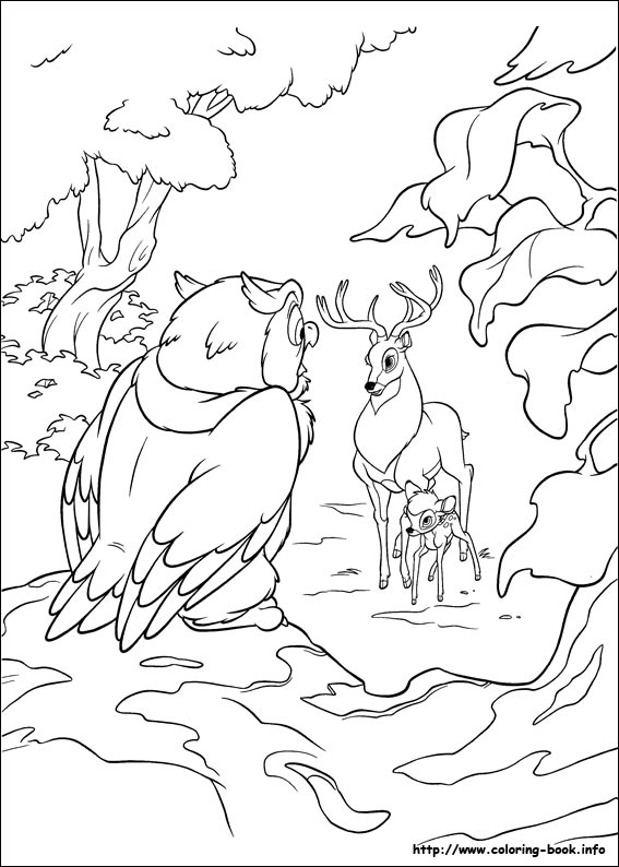 Bambi 2 coloring pages on Coloring-Book.info