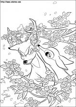 Bambi coloring pages on ColoringBookinfo
