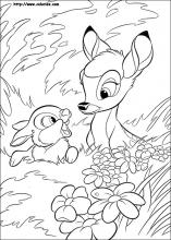 Bambi coloring pages on Coloring-Book.info