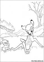 Bambi Coloring Pages On Coloring Book Info