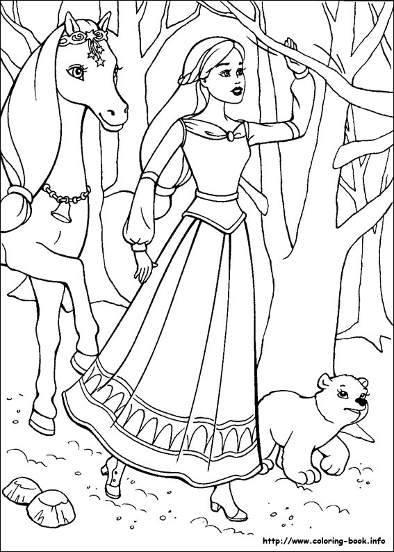 and the Magic of Pegasus coloring picture