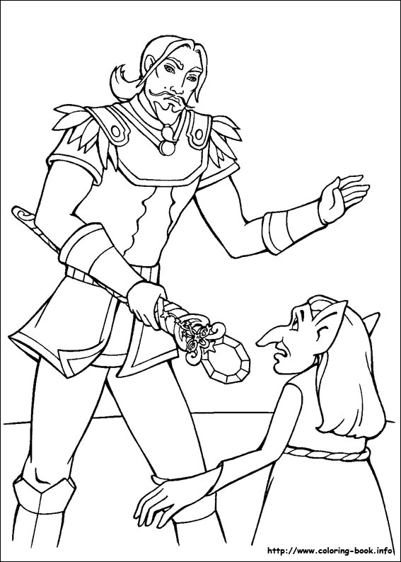 barbie and the magic of pegasus coloring picture