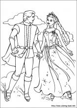 Barbie and the Magic of Pegasus coloring pages on ColoringBookinfo