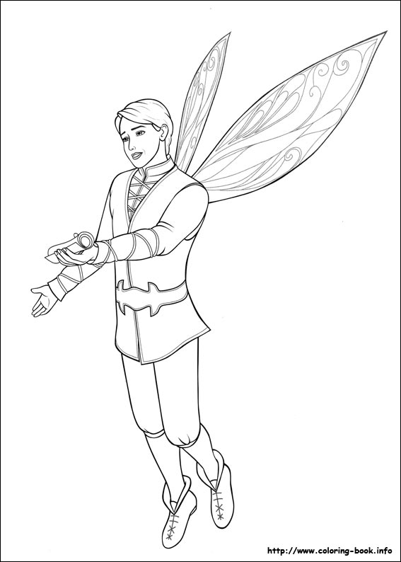 Mariposa coloring picture