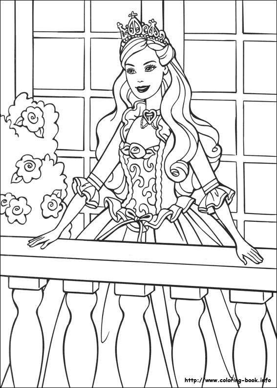 Sarahs Super Colouring Pages Barbie Colouring Pages
