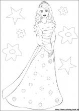 Barbie Coloring Pages On Book