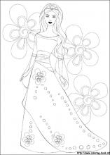 barbie coloring pages on coloring bookinfo - Barbie Pictures To Print And Colour