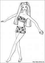 Worksheet. Barbie coloring pages on ColoringBookinfo