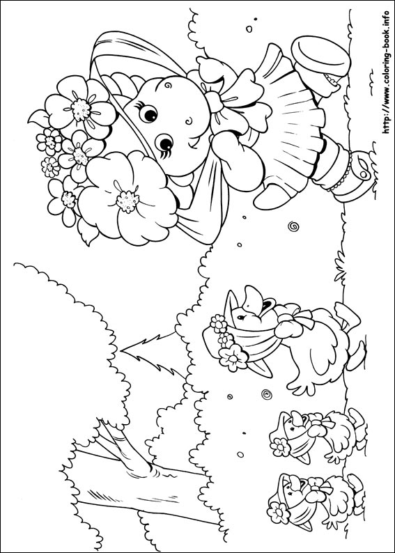 Free Printable Barney Coloring Pages For Kids | 794x567