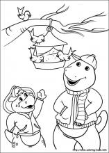barney and friends coloring pages on coloring bookinfo
