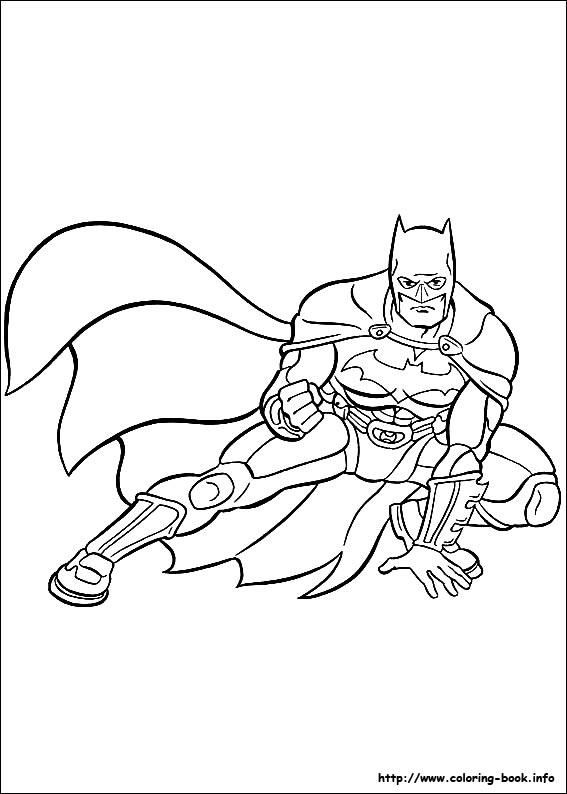 Batman Coloring Picture