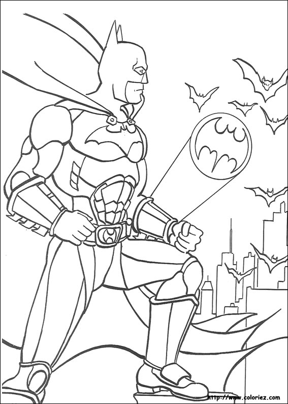 batmoblie coloring pages - photo#7