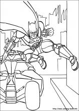index coloring pages - Batman Coloring Books