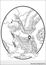 Bella Sara coloring pages on Coloring-Book.info