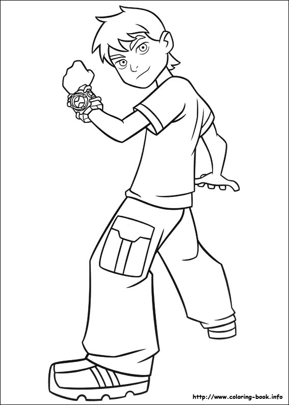Worksheet. 10 coloring picture