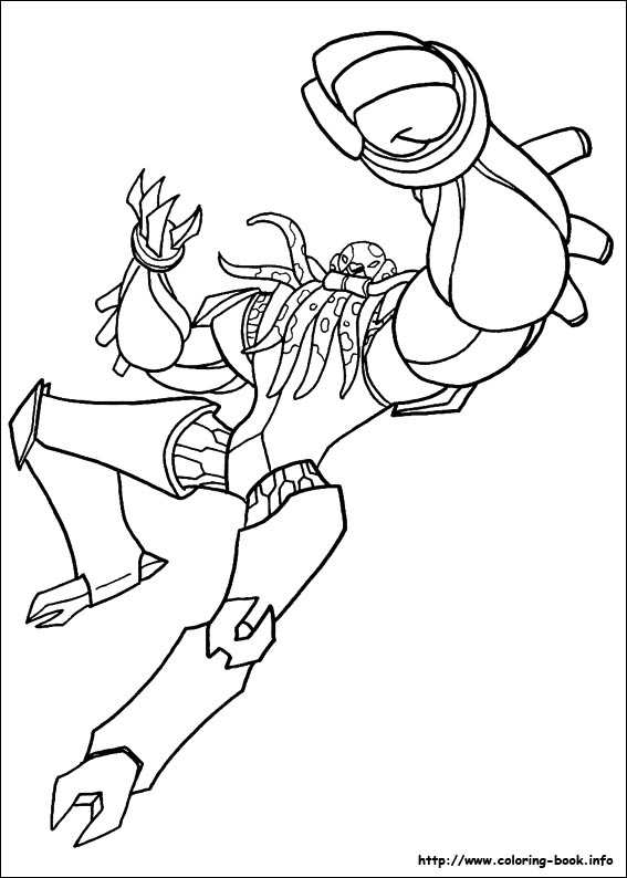 Ben 10 coloring pages on Coloring-Book.info