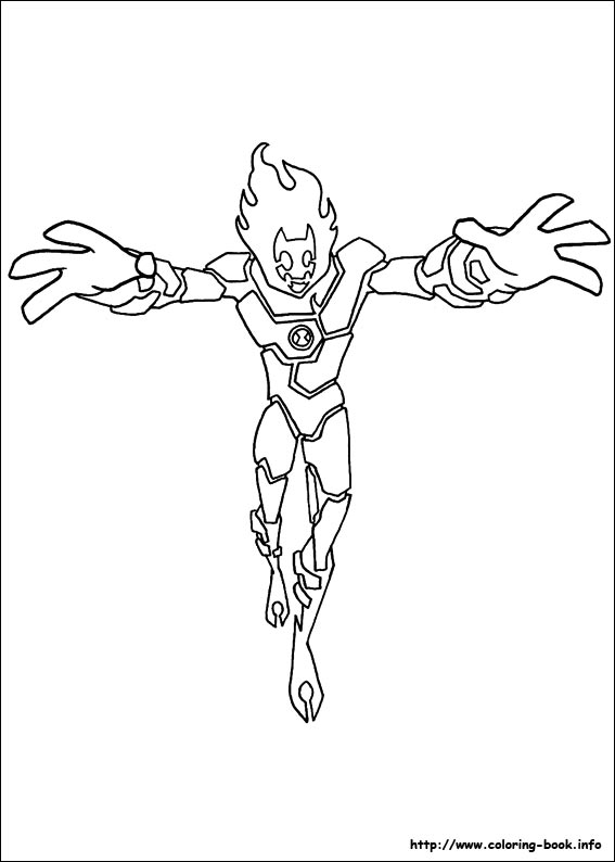 - Ben 10 Coloring Pages On Coloring-Book.info