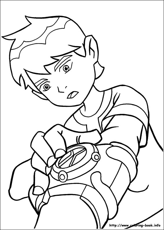 10 coloring picture