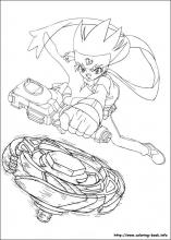 Beyblade Coloring Pages On Coloring Book Info