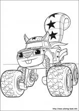 Machines Coloring Pages 43 Blaze And The Monster Pictures To Print Color Last Updated December 13th