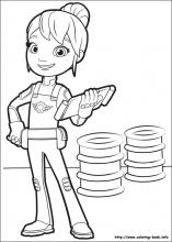 Blaze and the Monster Machines coloring pages on Coloring-Book.info