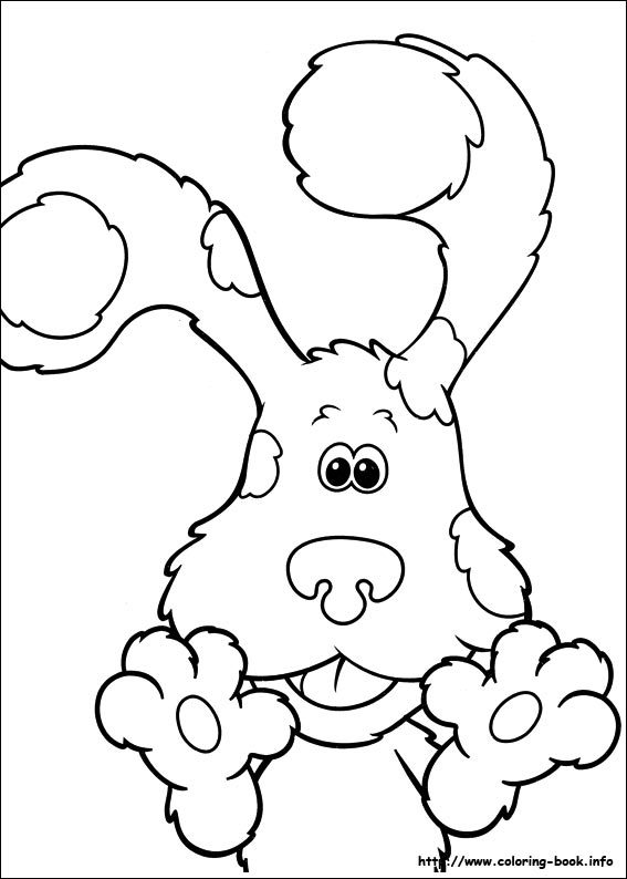 blues clues coloring picture - Blues Clues Coloring Pages