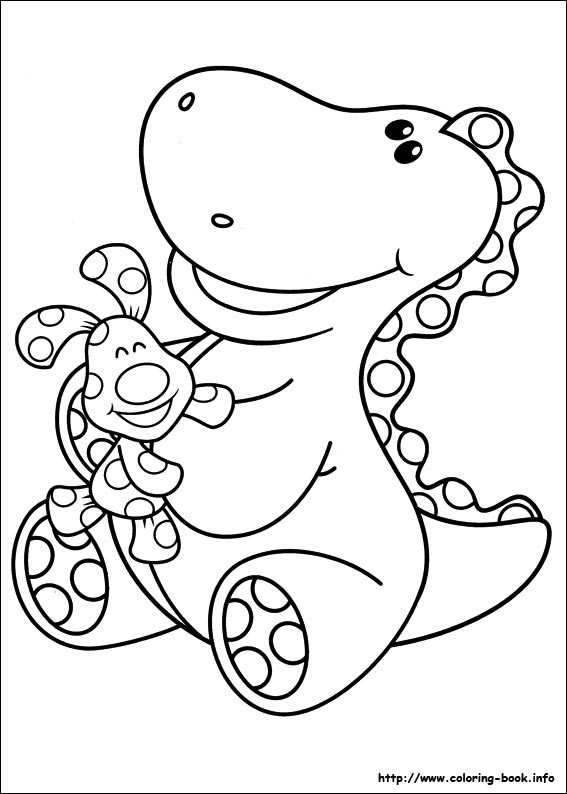 Blue\'s Clues coloring pages on Coloring-Book.info