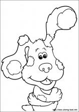 Blue S Clues Coloring Pages On Coloring Book Info