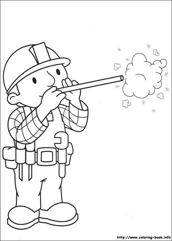 Bob the Builder coloring pages on Coloring-Book.info