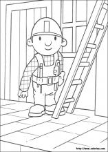 Bob the Builder coloring pages on Coloring Bookinfo