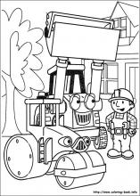 bob the builder coloring pages on coloring bookfo