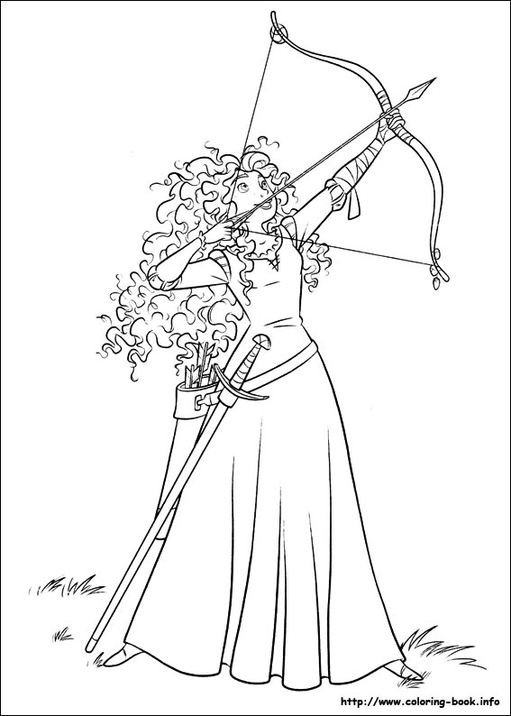 merida coloring pages Brave coloring pages on Coloring Book.info merida coloring pages