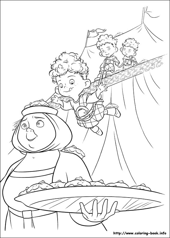 brave coloring pages games kids - photo#24