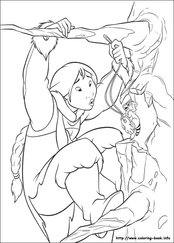 Brother Bear 2 coloring picture
